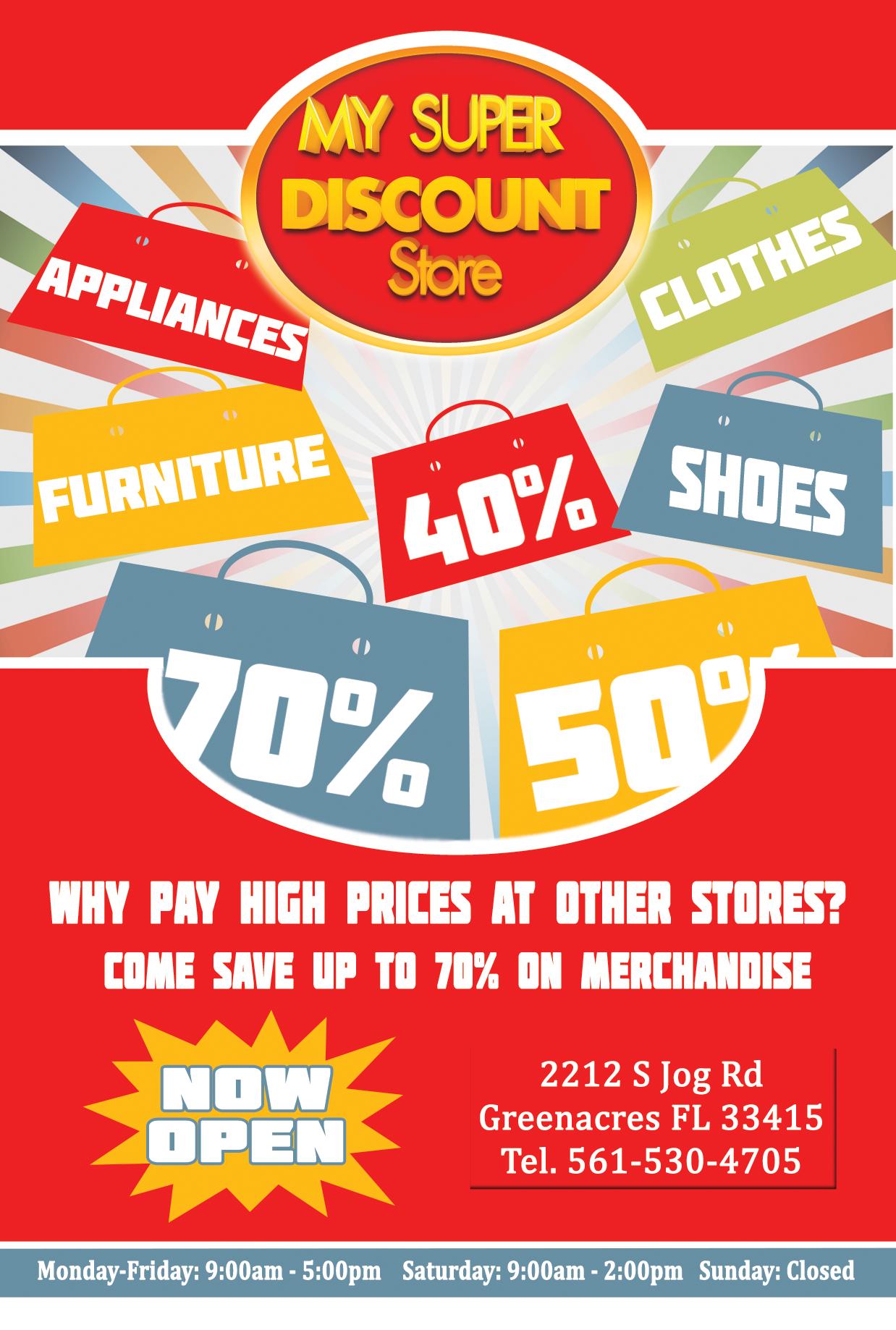 My Super Store Discount