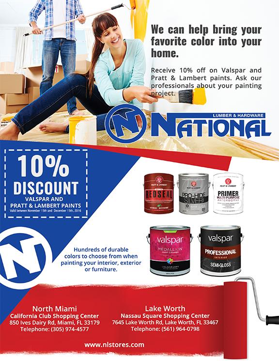 National Lumber & Hardware Ad