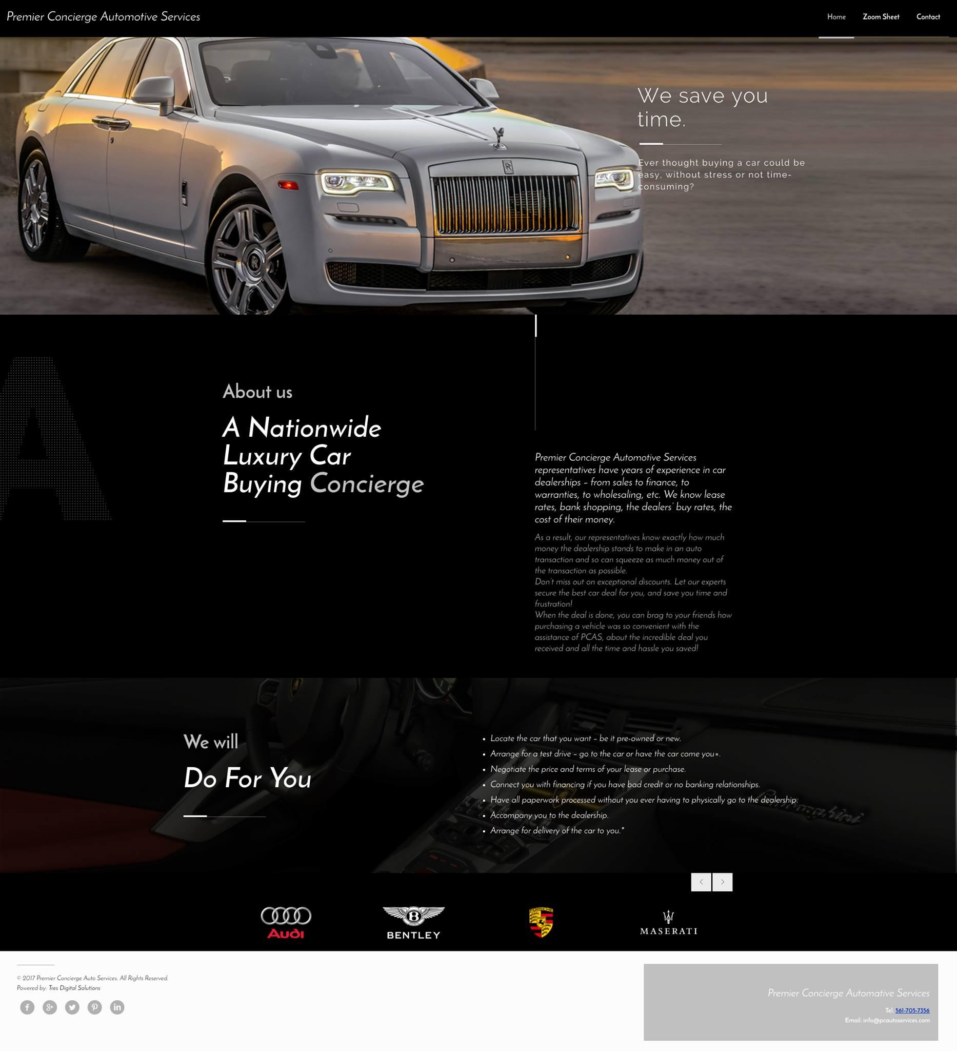 Premier Concierge Automotive Services
