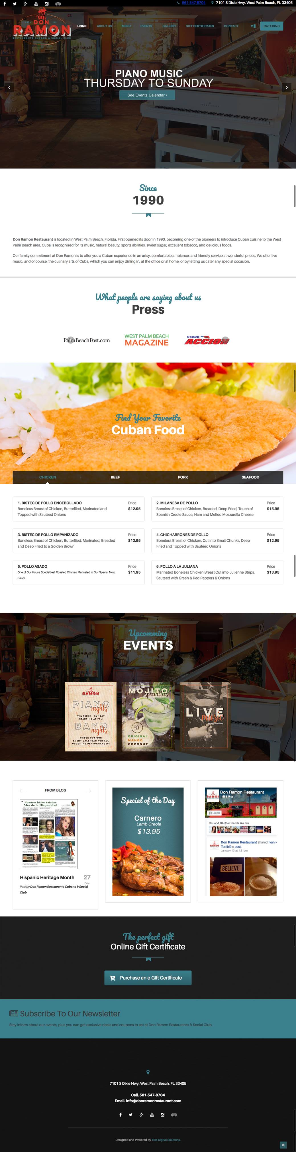 don ramon restaurant website